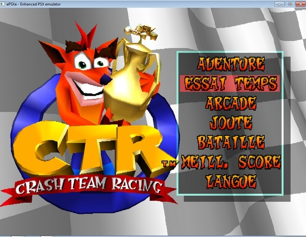 [Jeux Rétrolympiques 2014] Round 3 : Crash Team Racing PS1 Epsxe410