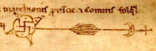 Au sujet de l'acte de vente du castrum de Rocbaron, signature étrange... Captur10