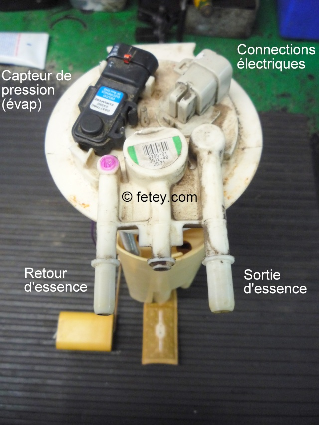 Pompe à essence d'une Venture démontée 14_sep11