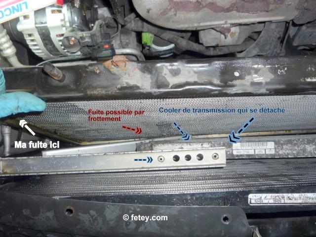 Caravan 2004, éviter de possible fuite au radiateur 30_nov10