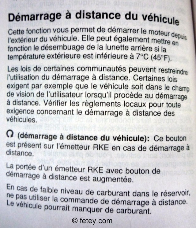 Démarreur à distance d'origine GM, non fonctionnel  Damarr10
