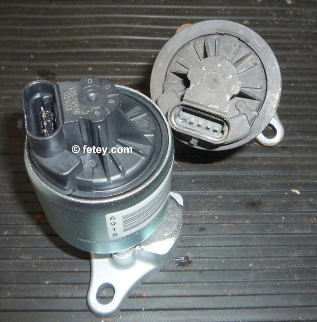 Valve EGR linéaire de GM démontée P1090710