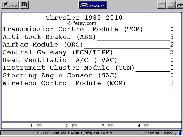 Jeep Patriot 2010 2.4L, le démarreur ne tourne pas User0210