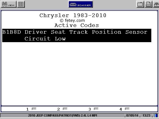 Jeep Patriot 2010 2.4L, le démarreur ne tourne pas User0212