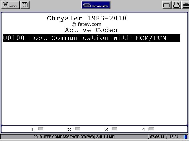 Jeep Patriot 2010 2.4L, le démarreur ne tourne pas User0213