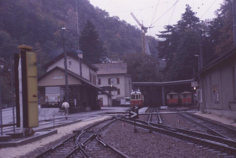 Waldenburger Bahn, Liestal, Switzerland 198811