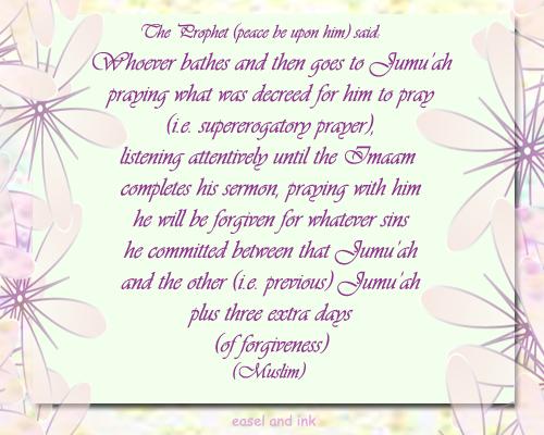 Jumu'ah Naseehah: The Prayer: Its prerequisites and essentials – II Jumuah11