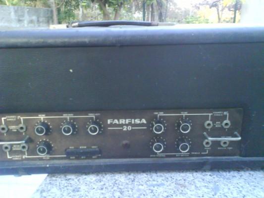 Restauro de um Amplicador farfisa Dsc01225
