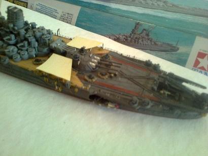 Yamato 1/700 Tamiya - Page 4 Photo110
