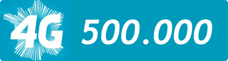 Déjà 500 000 clients équipés et en 4G sur le réseau Bouygues Telecom 13845010