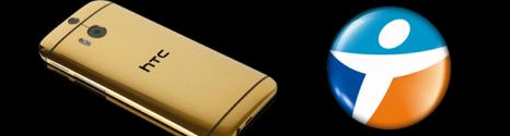 Un HTC One (M8) en Or 24 carats à gagner chez Bouygues Telecom 13999910