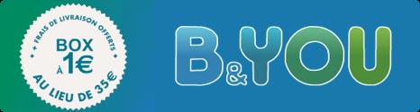 La Box de B&YOU Internet à 1€ au lieu de 35€ à l'achat 14002310