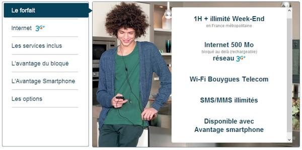 Forfait bloqué: L'usage internet mobile passe à 500Mo pour le même prix Bloqua10