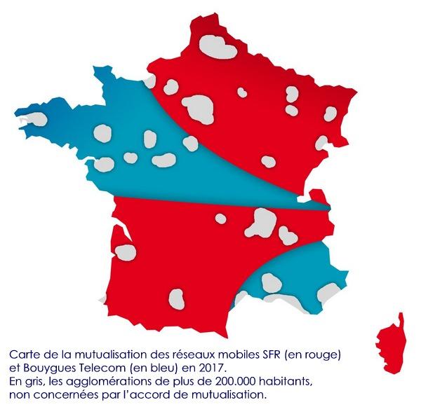 La mutualisation des réseaux de SFR et Bouygues Telecom redémarre Cartmu10