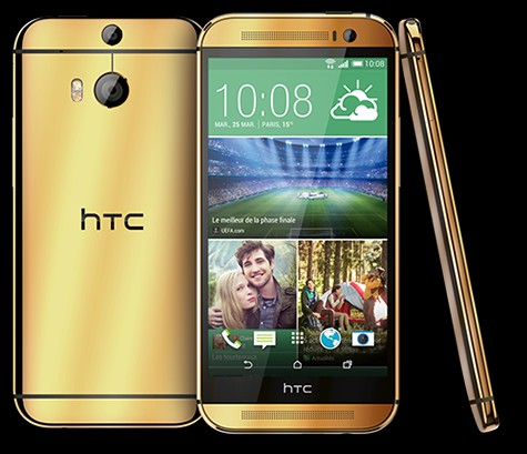 Un HTC One (M8) en Or 24 carats à gagner chez Bouygues Telecom Htconm10
