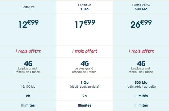 Bouygues Telecom propose la 4G sur tous ses forfaits,  sans surcoût Nvloff11