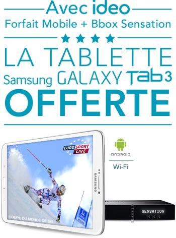 2 offres Bbox Sensation reconduites: 4 mois offerts ou une Galaxy Tab 3 Offres15
