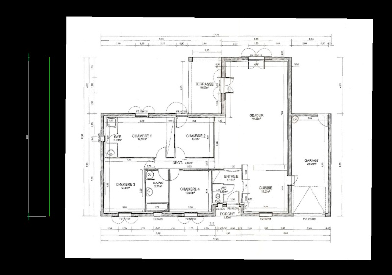 [ TECHNOLOGIE DU BATIMENT ] Dossier de Déclaration Permis de construire/Préalable. - Page 2 Vue_au10