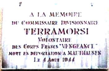 ORLEANS - plaque hommage au commissaire divisonnaire Terramorsi Resist10
