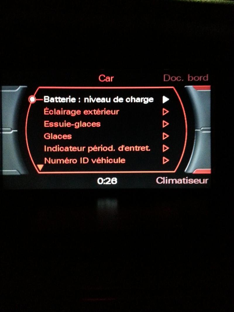 Disparition sur l'écran GPS l'affichage de la sélection de la température et de la sélection des aerateurs  20131011