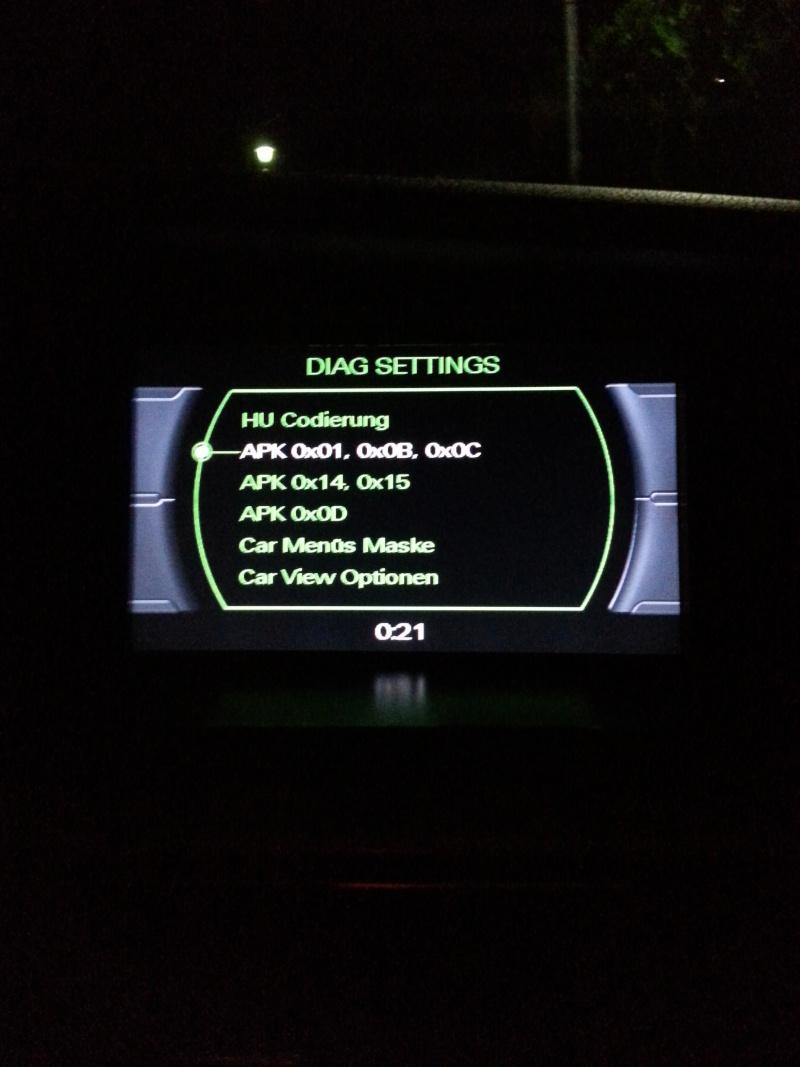 Disparition sur l'écran GPS l'affichage de la sélection de la température et de la sélection des aerateurs  20131013