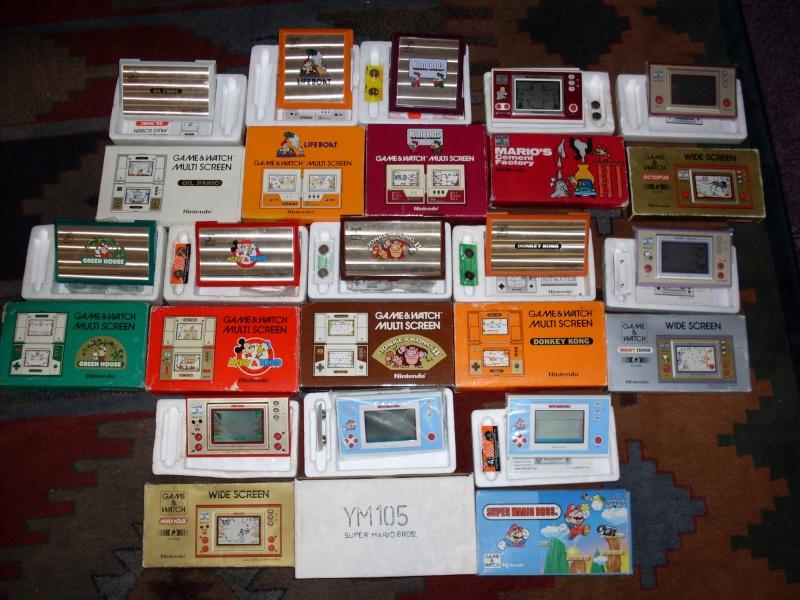 Game & Watch - Tabletop et autres jeux électronique Collec11