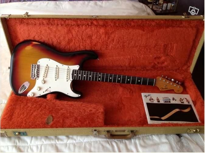 """Fender Stratocaster """"Fullerton"""" Fuller10"""