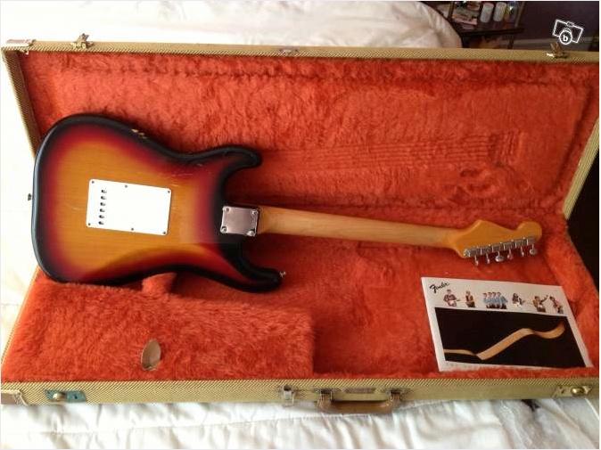"""Fender Stratocaster """"Fullerton"""" Fuller11"""