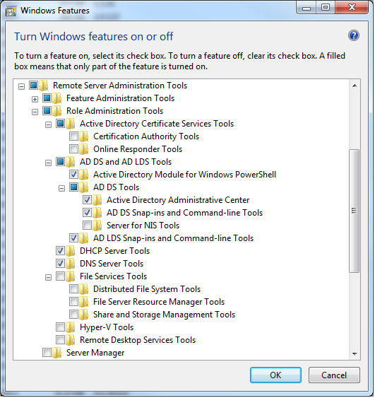 Active Directory Feature on a workstation Admin_11
