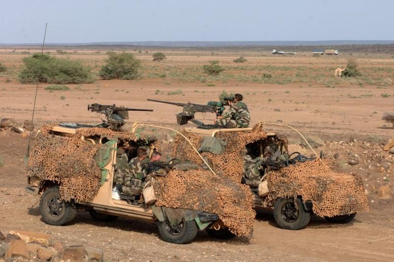 quelques fusils d'assaut (G.C.P.) 1er R.C.P. 11466611