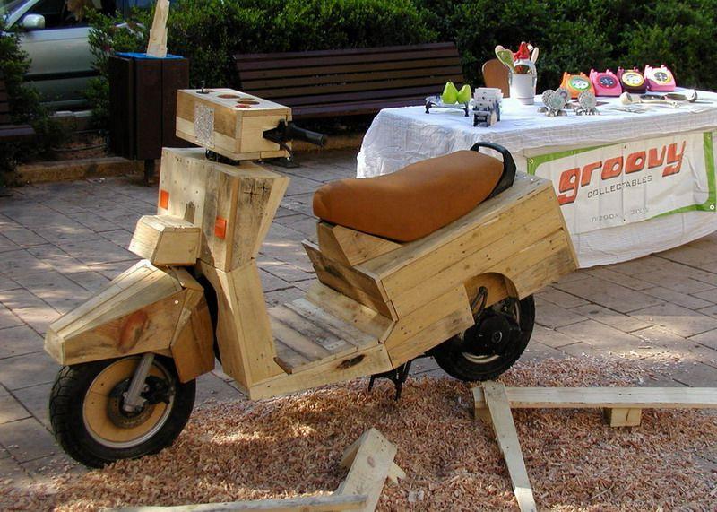 Honda helix Wooden10