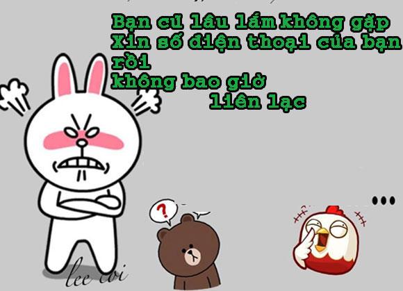 Chuyện Gấu Brown và thỏ Cony 2a51ca10