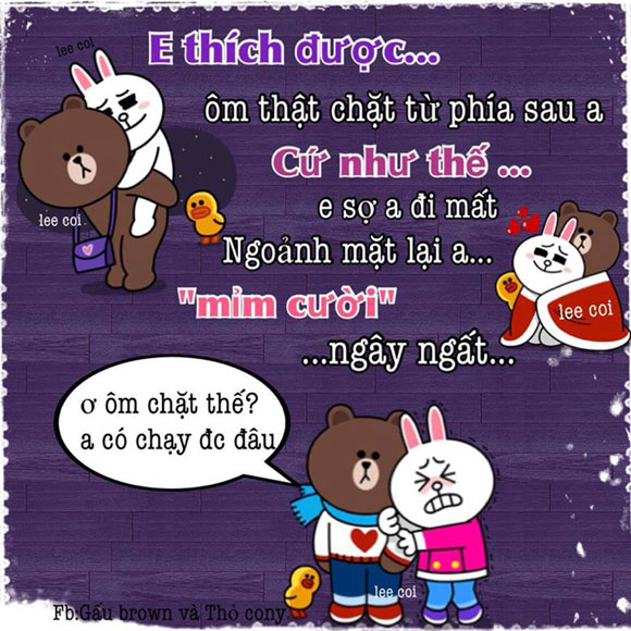 Chuyện Gấu Brown và thỏ Cony - Page 3 3b39af10