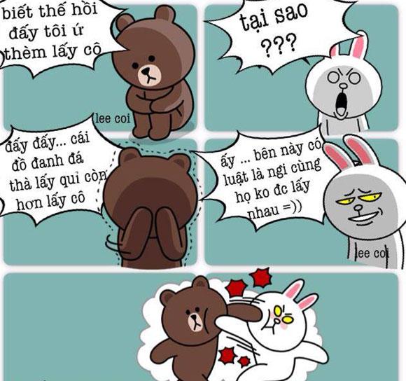 Chuyện Gấu Brown và thỏ Cony 4e7e1c10