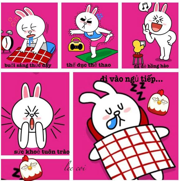 Chuyện Gấu Brown và thỏ Cony 4f88ea10