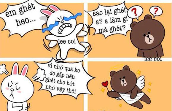 Chuyện Gấu Brown và thỏ Cony 65395b10