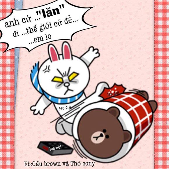 Chuyện Gấu Brown và thỏ Cony - Page 3 6a444010