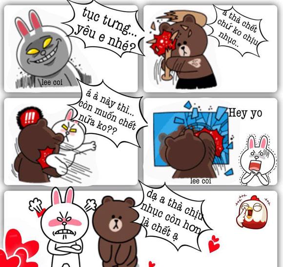 Chuyện Gấu Brown và thỏ Cony 70193710