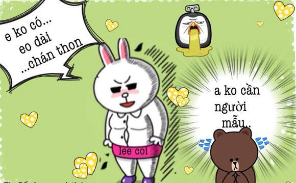 Chuyện Gấu Brown và thỏ Cony 78068310