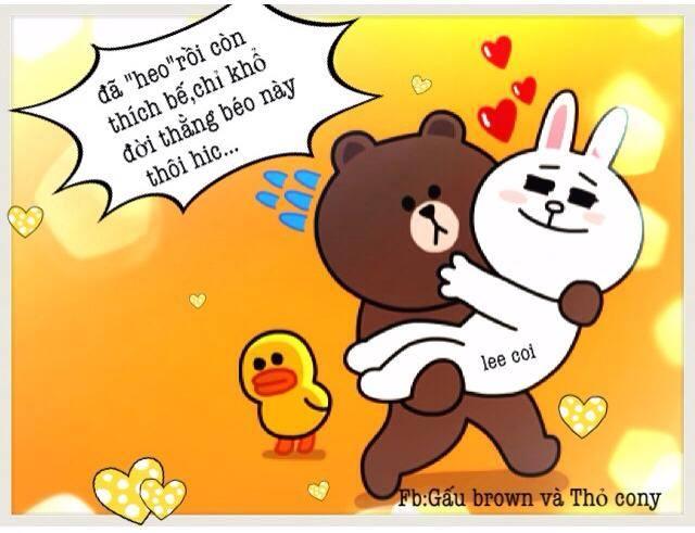 Chuyện Gấu Brown và thỏ Cony - Page 3 84037c10