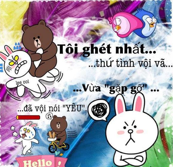 Chuyện Gấu Brown và thỏ Cony 85109c10