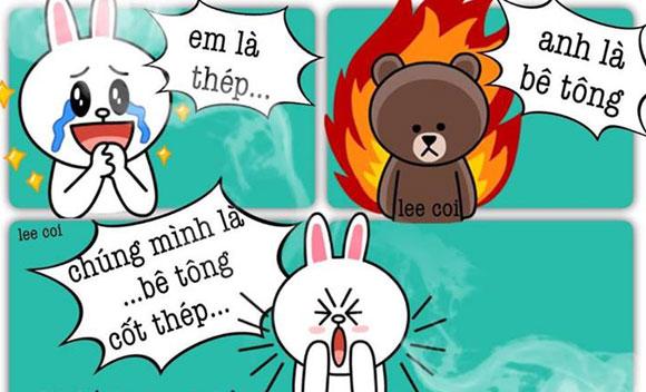 Chuyện Gấu Brown và thỏ Cony A04d3410