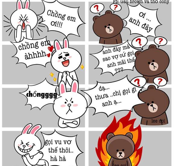 Chuyện Gấu Brown và thỏ Cony C11ff010