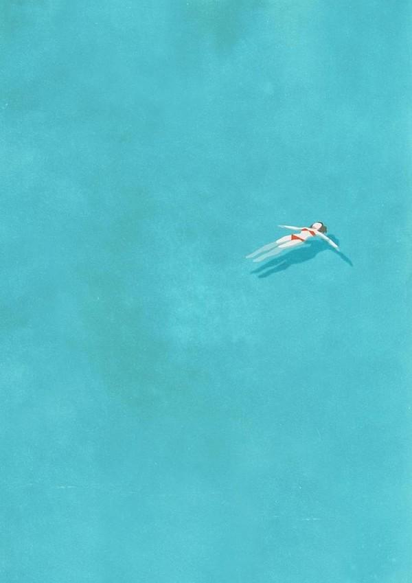 Khoảnh khắc cô đơn qua tranh vẽ  Di-tim10