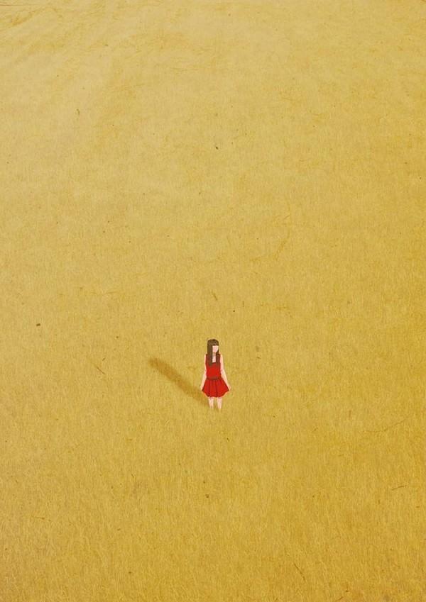 Khoảnh khắc cô đơn qua tranh vẽ  Di-tim12