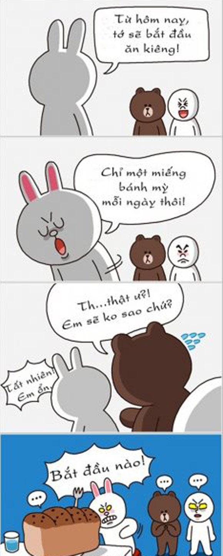 Chuyện Gấu Brown và thỏ Cony E8b8a210