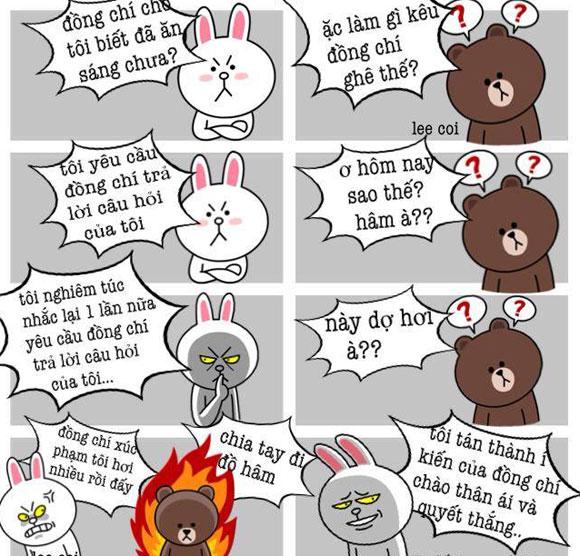 Chuyện Gấu Brown và thỏ Cony F1369d10