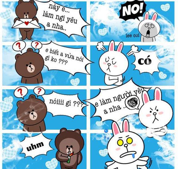 Chuyện Gấu Brown và thỏ Cony F9917010