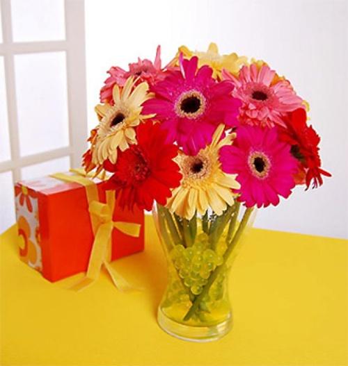 Cắm hoa ngày Tết mang lại may mắn Hoa-do10