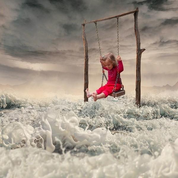 Chùm ảnh siêu thực của những em bé Nhung-31